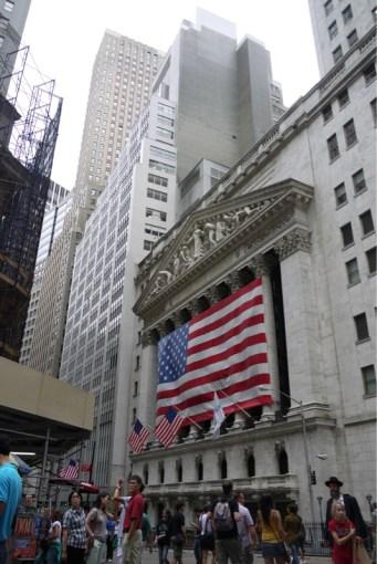 Bekannt aus Funk und Fernsehen: Die Wall Street