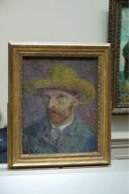 Selbstbildnis von van Gogh
