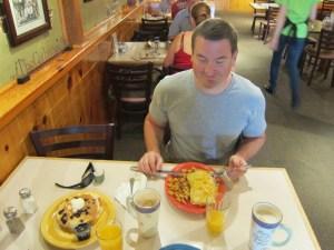 Breakfast - muss ja.