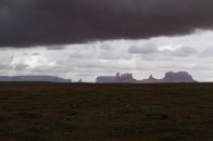 Wetterdramatik im Monument Valley