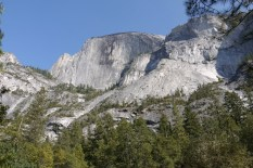 """Half Dome"" vom ""Mirror Lake"" aus"