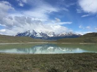 Ein letzter Blick auf die Torres del Paine