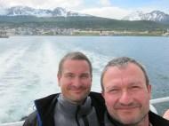 Wir und Ushuaia