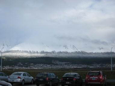 Ushuaia im Sonntagsmorgengrauen