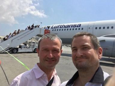 Abflug in Malta, auf nach Frankfurt