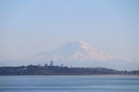 Seattle und Mount Rainier
