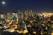 Seattle by Night