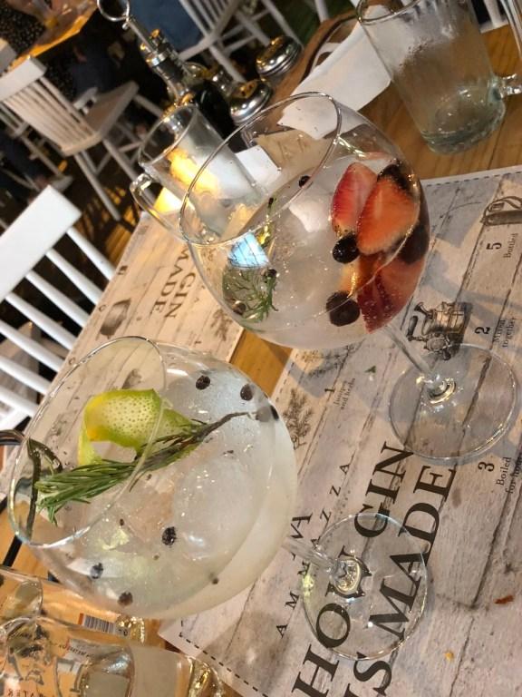 Ein schicker Gin Tonic zum Tagesausklang