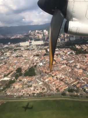 wieder einmal Medellín von oben