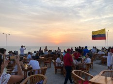 Sunset @ Café del Mar Cartagena de Indias