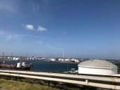 Die Raffinerie. das nicht so schöne Wahrzeichen Curaçaos