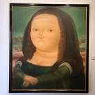Boteros neu interpretierte Mona Lisa