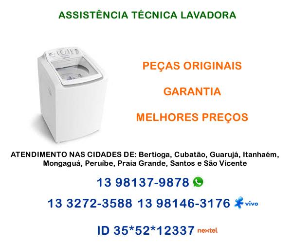 assistência técnica lavadora