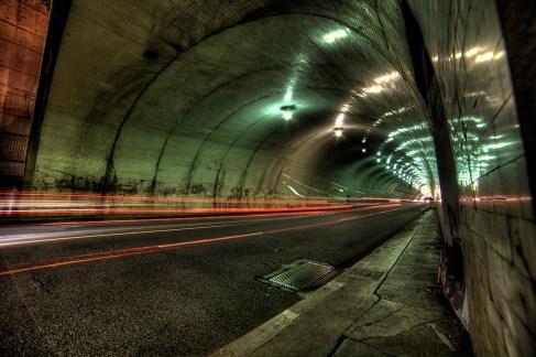 Second Street Tunnel - Los Angeles, CA
