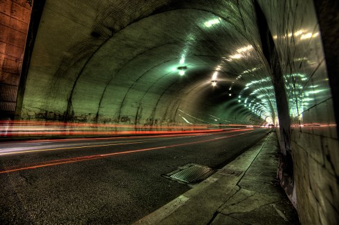 Second Street Tunnel - Los Angeles, CA
