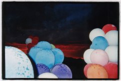 Rain, Dust, Balloons, Sunset - Nevada