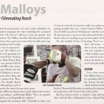 Malloys Article in Shoot Magazine