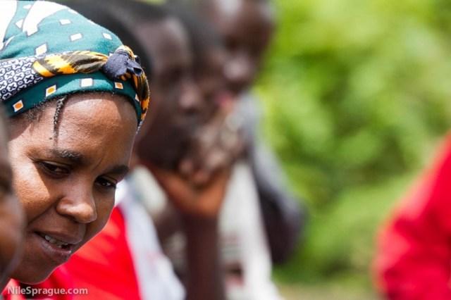 Woman Farmer at Agricultural Training, Kenya