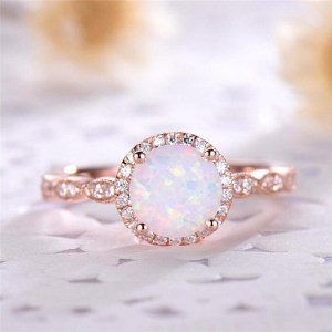 Opal Engagement Ring Fire Opal Engagement Ring