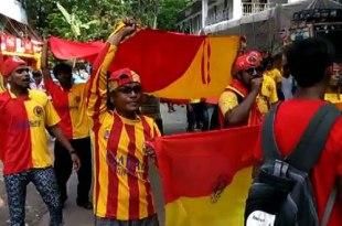 East Bengal Mohun Bagan Derby
