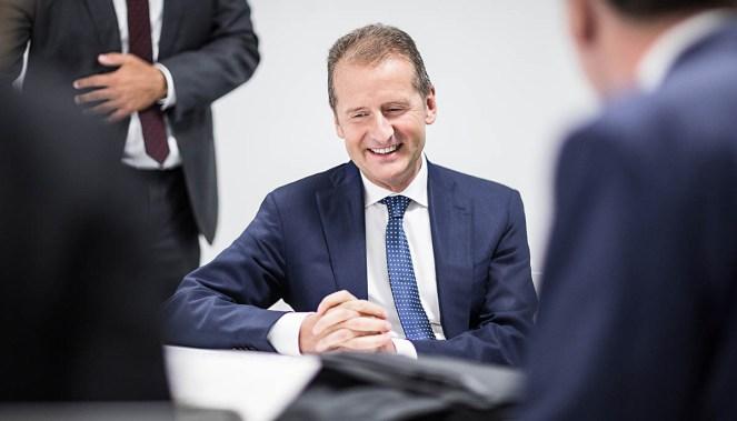 Herbert Diess / Markenvorstand Volkswagen AG / Medium: Wirtschaftswoche / Wolfsburg 2016 / Foto: Nils Hendrik Mueller