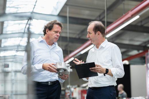 Prof. Dr Christoph Haas & Peter Hagemann / Kunde: pareto / Braunschweig 2020 / Fotograf: Nils Hendrik Mueller