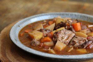 Rosemary Lamb Shank Stew
