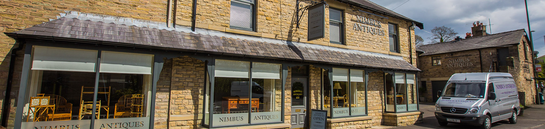 Nimbus Antiques Shop Front