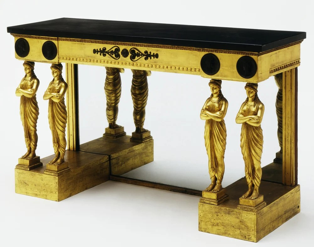 Greek Revival Pier Table