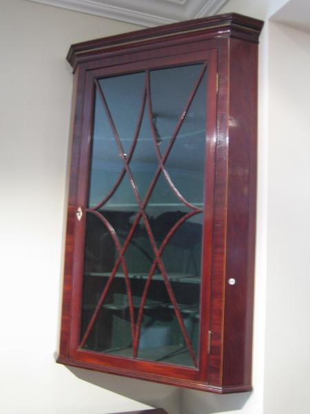 Regency Corner Cupboard