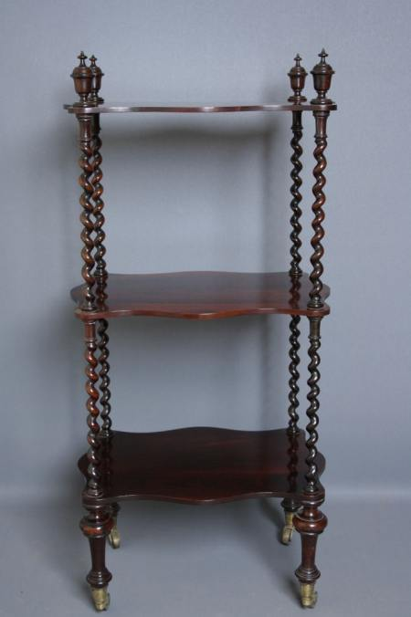 Early Victorian Etagère