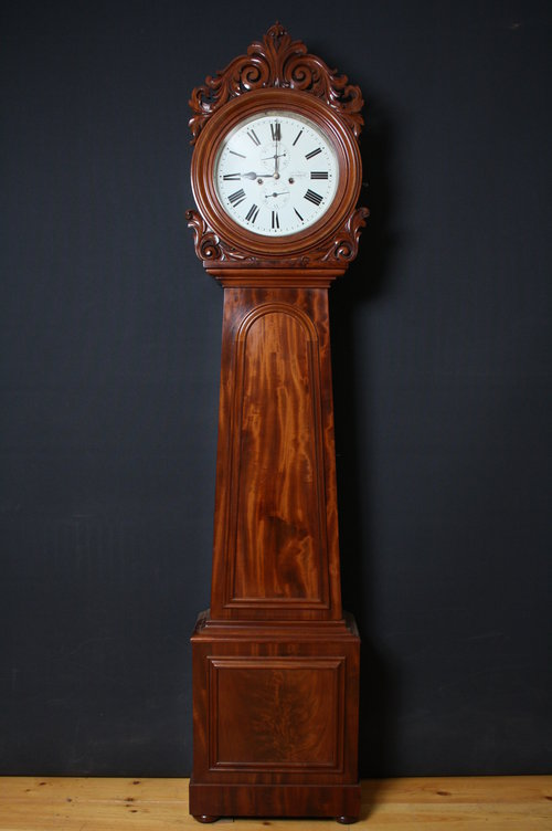 William IV, Scotish Longcase Clock A. Breckenridge, Kilmarock