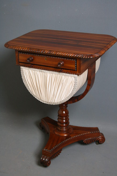 Early Victorian Work Table