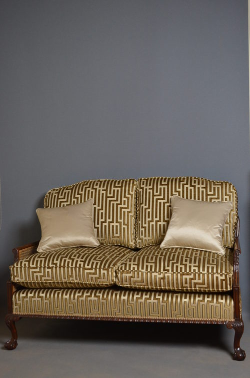 Very Attractive Bergere Sofa