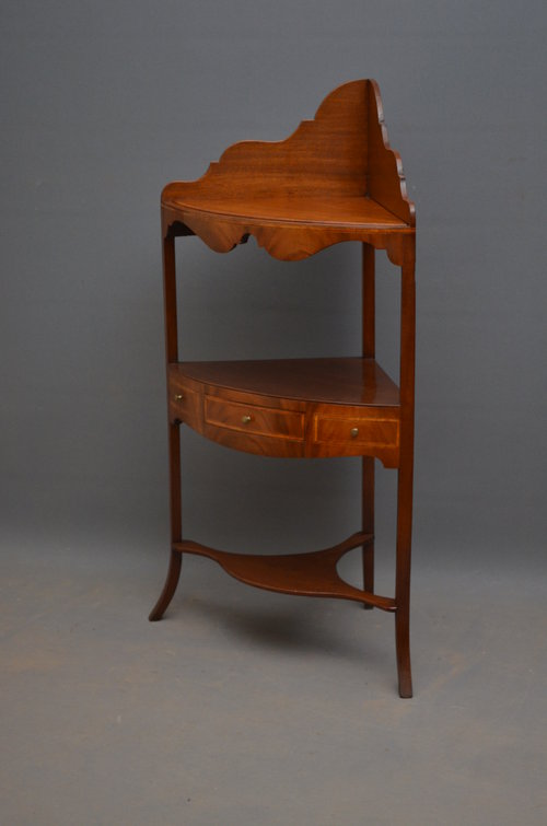 Georgian Corner Washstand