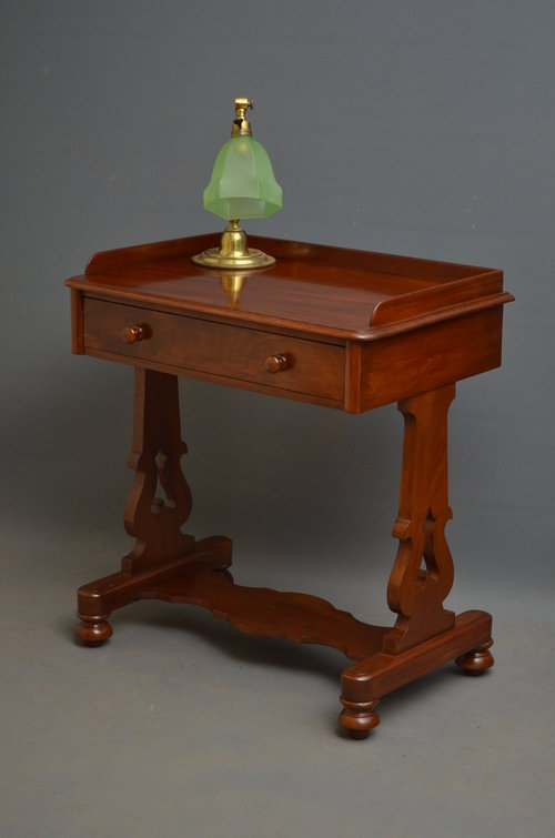 Early Victorian Side Table / Writing Table