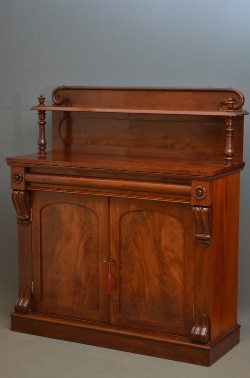 Fine William IV Chiffonier in Mahogany