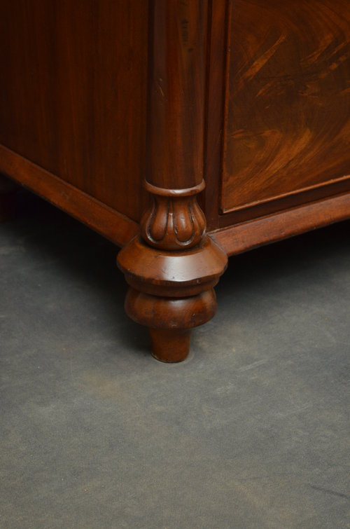 Early Victorian Mahogany Chest of Drawers