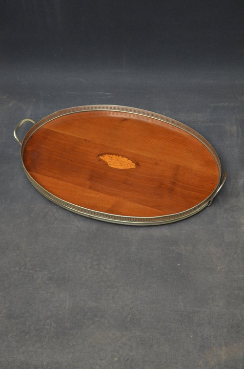 Attractive Edwardian Mahogany Tray