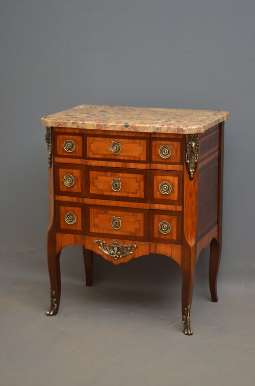 Continental Chest of Drawers - Commode
