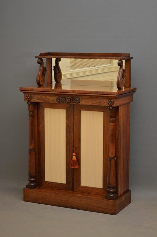 William IV Rosewood Chiffonier - Sideboard