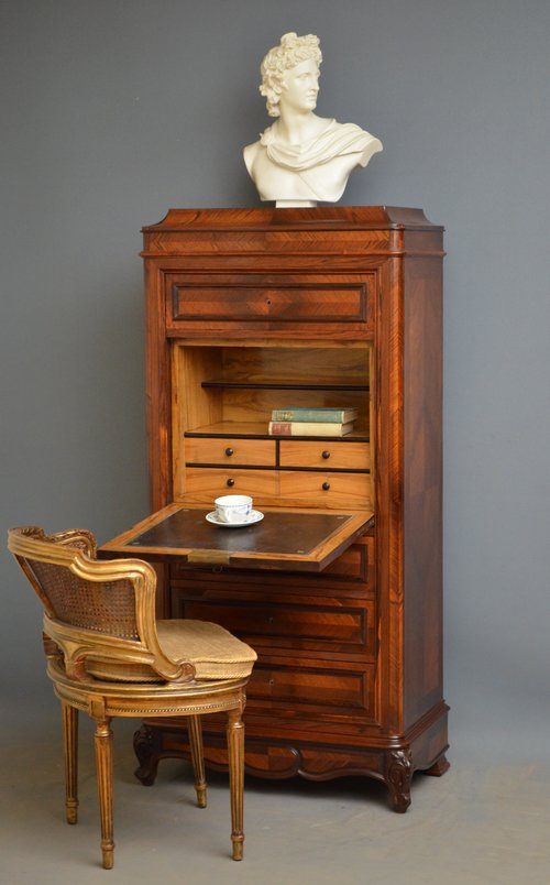 Fine French Chest of Drawers with Secretaire