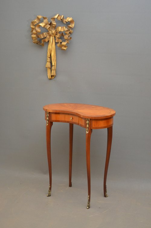 Attractive Continental Kidney Shaped Table