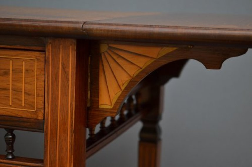 Late Victorian Rosewood Occasional Table