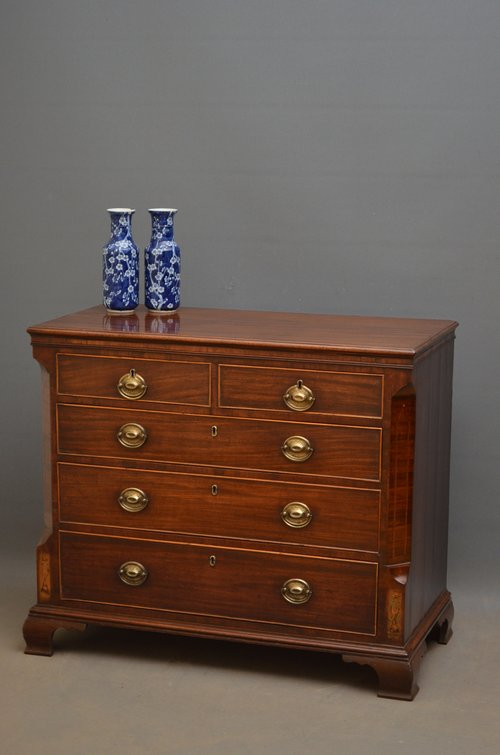 Superb Georgian Mahogany Chest of Drawers