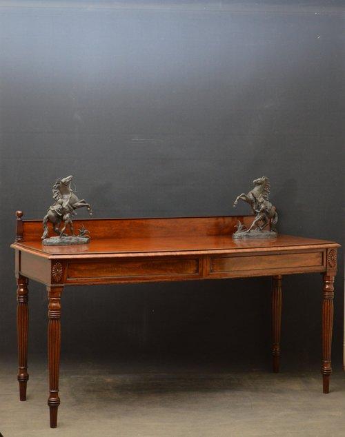Regency Mahogany Serving Table