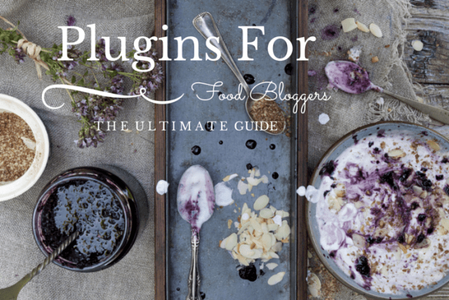Plugins para Food Bloggers