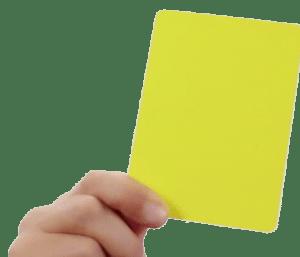 Showing Yellow Card-Nimesh Soni-Agile-Scrum-Transformation