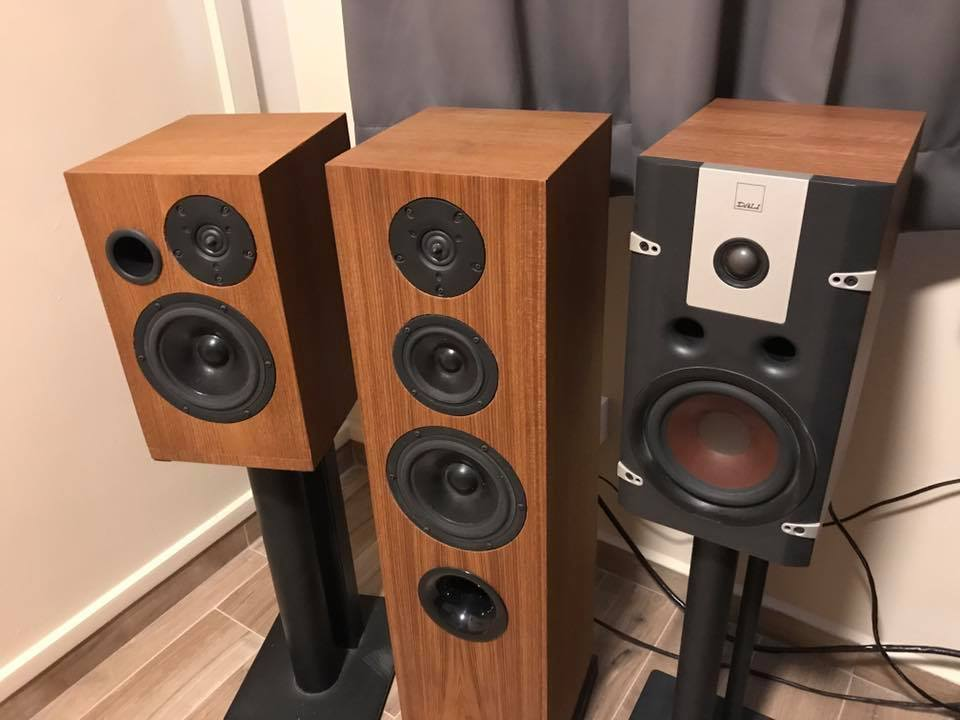 DIY Speakers vs. DALI