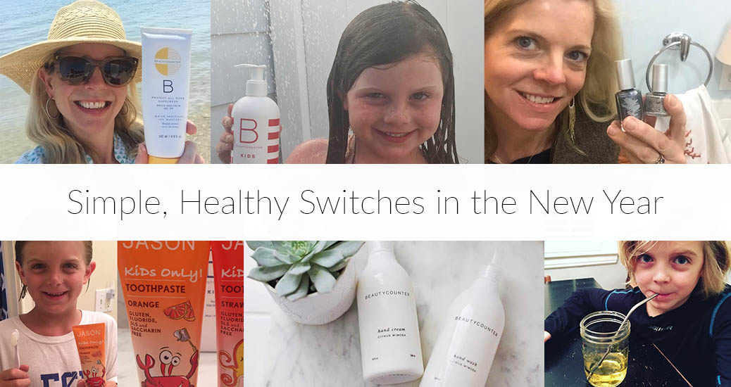 Simple, Healthy Switches in the New Year: Here is My List